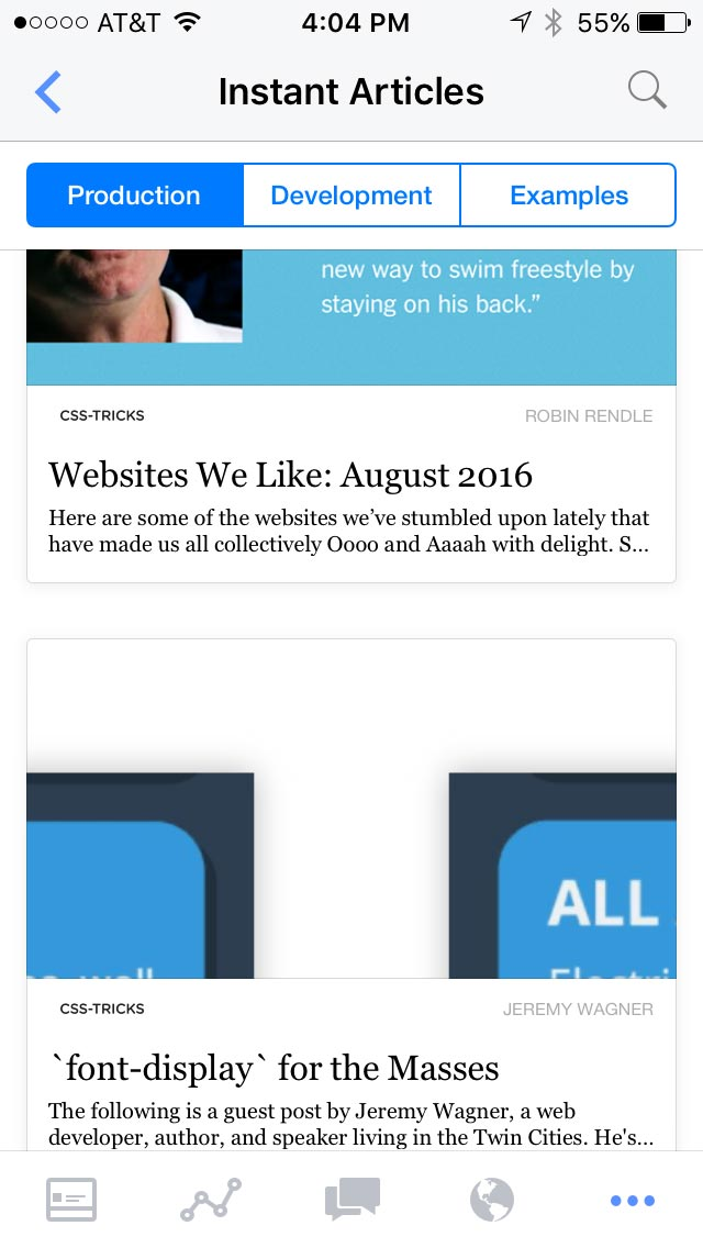 From WordPress to Apple News, Instant Articles, and AMP - The Media