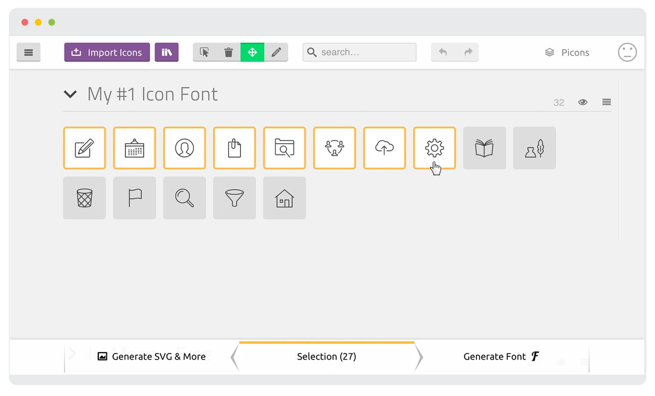 Creating and Implementing Your Own Icon Font – A Tutorial - The