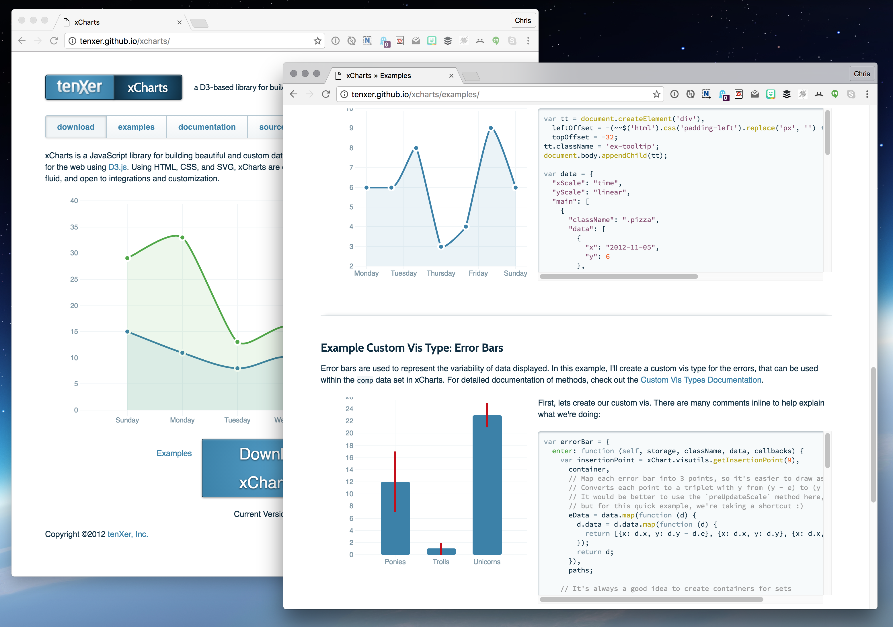SVG Charting Libraries - The Media Temple Blog