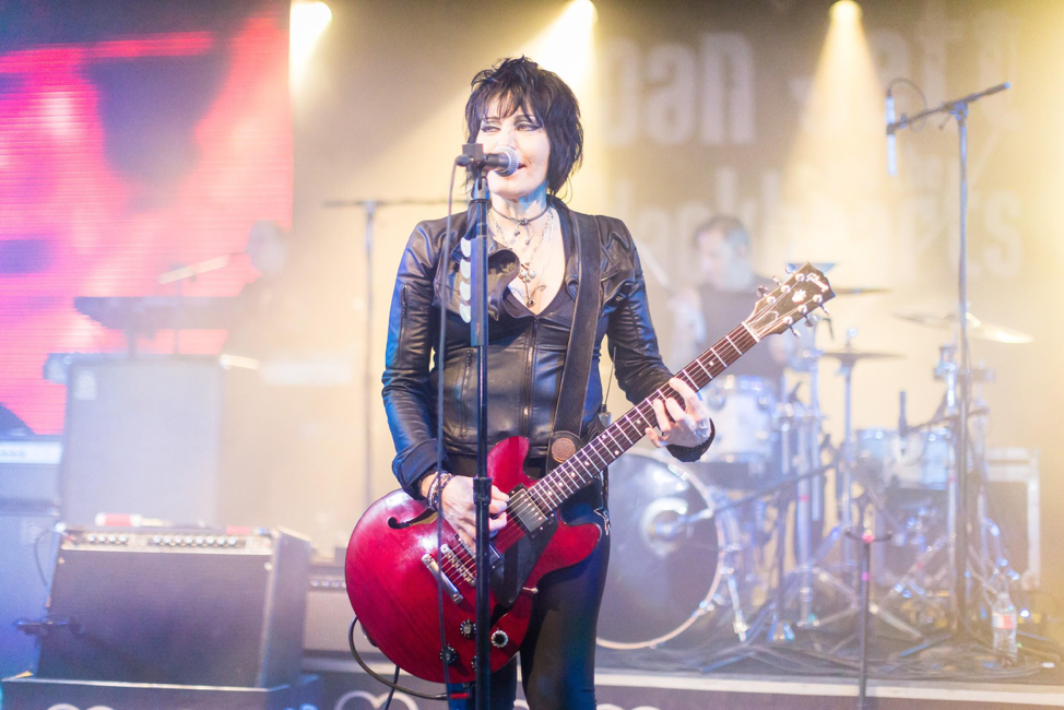 "Joan Jett performance of ""I Love Rock and Roll"""