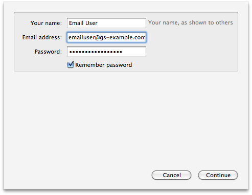 how to set up a new email address with thunderbird